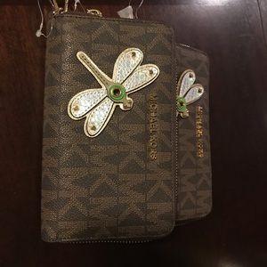 MK wrist wallet